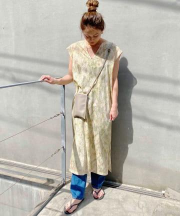SHENERY(シーナリー) ボタニカルプリントドレス