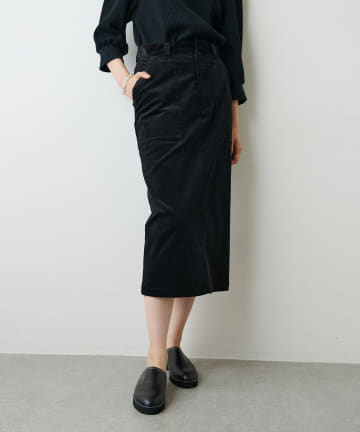 Whim Gazette(ウィム ガゼット) 【Col Pierrot】コーデュロイスカート