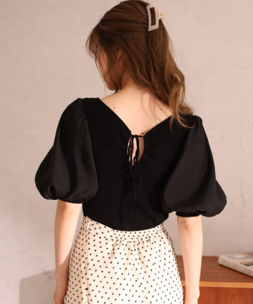 one after another NICE CLAUP(ワンアフターアナザー ナイスクラップ) 【Cherie chuu】Vneck summer khit