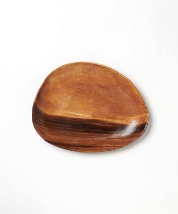 CIAOPANIC TYPY(チャオパニックティピー) 〈木製食器・お皿〉アカシアエッグ型トレー B