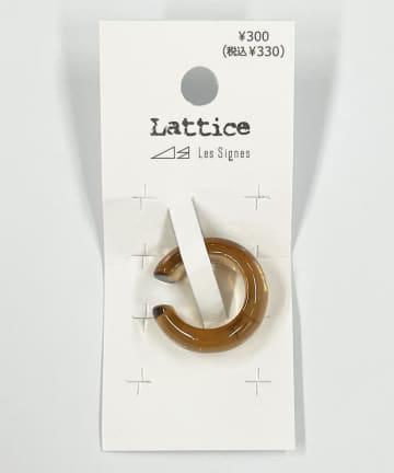 Lattice(ラティス) アクリルイヤーカフ
