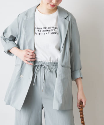 natural couture(ナチュラルクチュール) シンプルロゴT