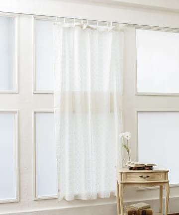 salut!(サリュ) 総刺繍レースカーテン