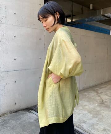 DOUDOU(ドゥドゥ) 【WEB限定】シャツジャケット