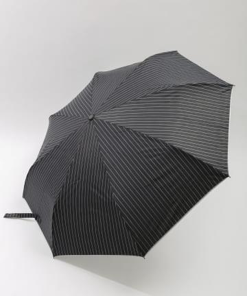 3COINS(スリーコインズ) 【一部店舗限定】ユニセックス晴雨兼用折傘ストライプ