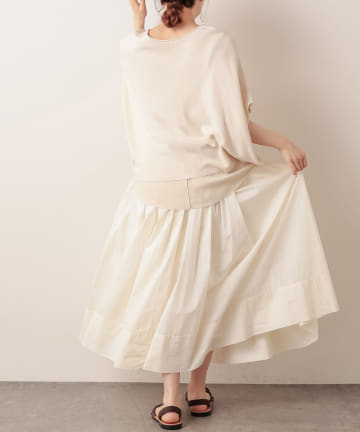pual ce cin(ピュアルセシン) ペーパー加工スカート