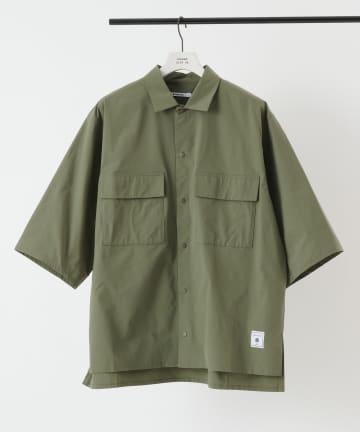 COLONY 2139(コロニー トゥーワンスリーナイン) NESTマルチストレッチ半袖シャツ/オーバーサイズワークシャツ(セットアップ可)
