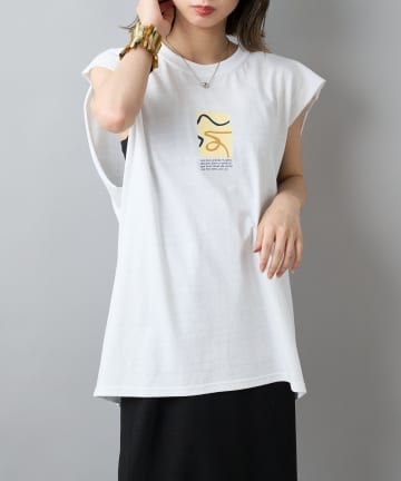 CIAOPANIC(チャオパニック) 【SCREEN STARS/スクリーンスターズ】アートノースリTシャツ