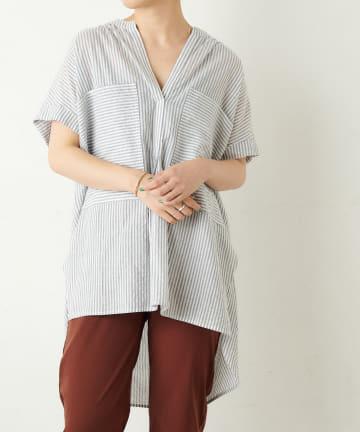 Omekashi(オメカシ) ポケットスキッパーシャツ