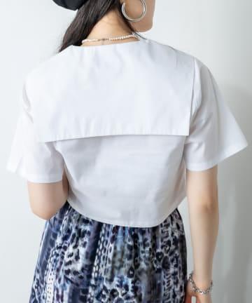 RASVOA(ラスボア) オープンカラーセーラーシャツ