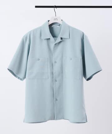 COLONY 2139(コロニー トゥーワンスリーナイン) リネンライクオープンカラー半袖シャツ/オープンカラーシャツ