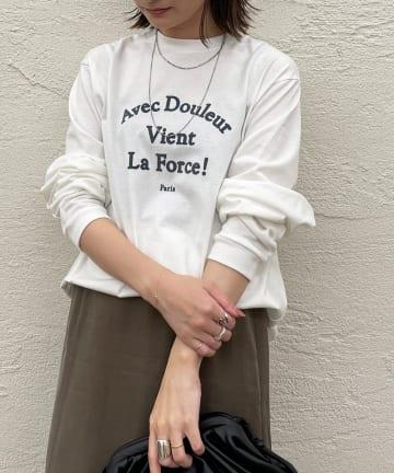 Loungedress(ラウンジドレス) 【+81BRANCA/ハチイチブランカ】Avec Douleur Tシャツ