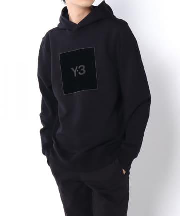 Lui's(ルイス) 【Y-3/ワイスリー】U SQUARE LOGO HOODIE