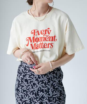 Discoat(ディスコート) アメリカンロゴTシャツ