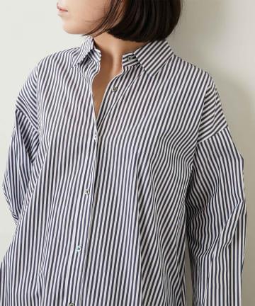 Whim Gazette(ウィム ガゼット) コットンBIGシャツ