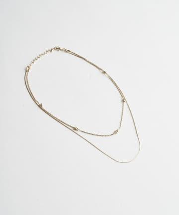 Lattice(ラティス) 2連ネックレス