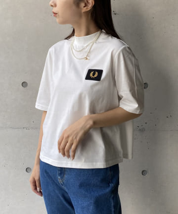 CAPRICIEUX LE'MAGE(カプリシュレマージュ) 〈WEB限定〉【FRED PERRY/フレッドペリー】モックTシャツ