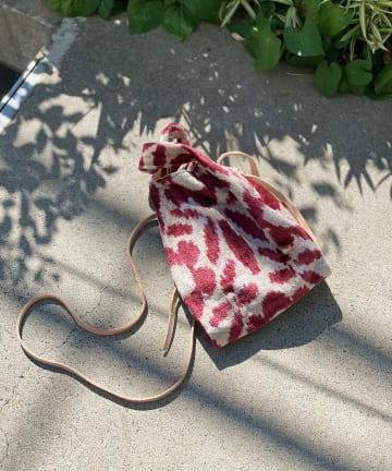 RIVE DROITE(リヴドロワ) 【Kilim ARTS(キリムアーツ)】ベルベットマーケットバッグ