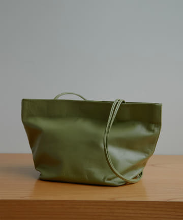 GALLARDAGALANTE(ガリャルダガランテ) 【MODERN WEAVING】ラムレザーバスケットバッグ