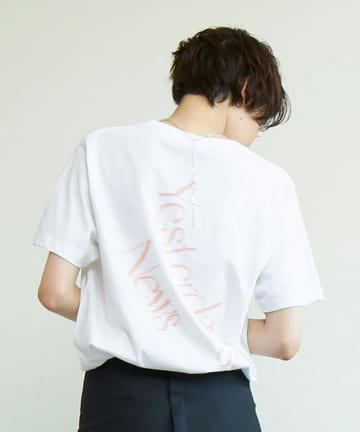GALLARDAGALANTE(ガリャルダガランテ) 【Personal Effects】バックロゴTシャツ