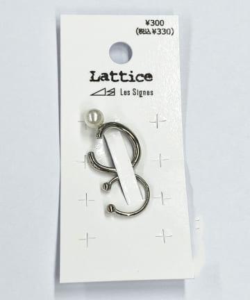 Lattice(ラティス) パールうねりイヤーカフ