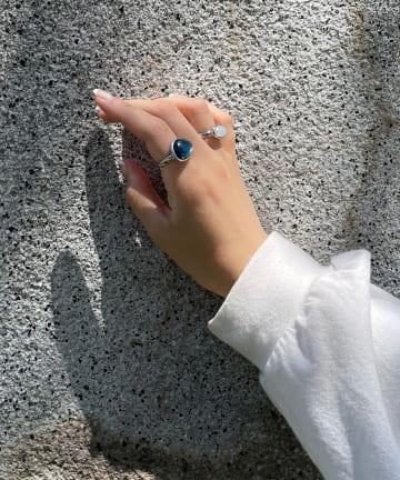 Lattice(ラティス) 【WEB限定】カラーストーンセットリング〈パッケージ入り〉