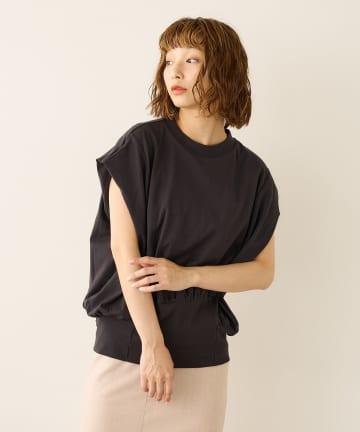 Lui's(ルイス) 裾リブタックプルオーバー