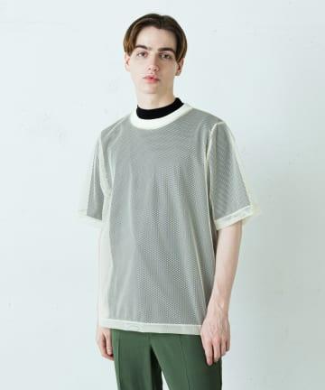 Lui's(ルイス) ビッグメッシュTシャツ