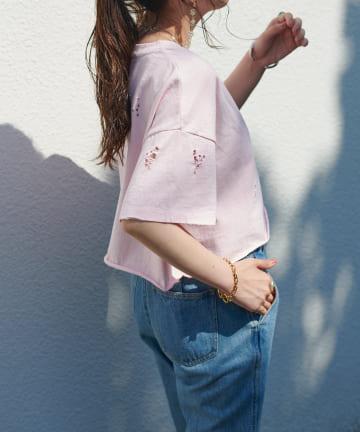Discoat(ディスコート) ダメージTシャツ