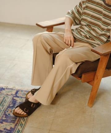 Kastane(カスタネ) 【WHIMSIC】PIPING TRACK PANTS 2