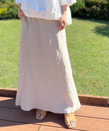 BEARDSLEY(ビアズリー) リネンスカート