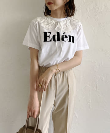 CAPRICIEUX LE'MAGE(カプリシュレマージュ) 付け襟Eden Tシャツ