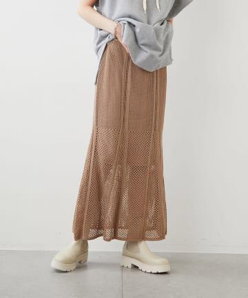 Whim Gazette(ウィム ガゼット) 【THE PAUSE】スカシアミスカート