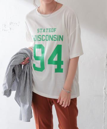 Discoat(ディスコート) 【WEB限定】ナンバーリングロゴTシャツ