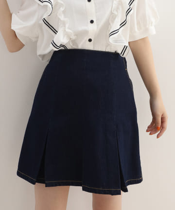 one after another NICE CLAUP(ワンアフターアナザー ナイスクラップ) フレアミニスカート
