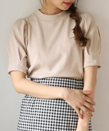 NICE CLAUP OUTLET(ナイスクラップ アウトレット) 【one afteranother】袖コンインナーTOPs