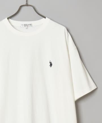 CIAOPANIC(チャオパニック) 【U.S. POLO ASSN. 】ロゴ刺繍ビッグTシャツ