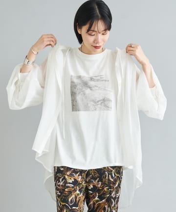 DOUDOU(ドゥドゥ) 【WEB限定】ギャザーボリュームシャツ