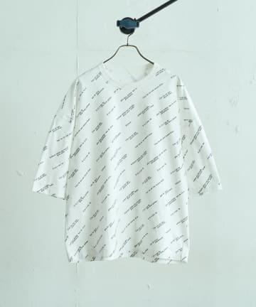Lui's(ルイス) ジョルジュメッセージビッグシルエットTシャツ