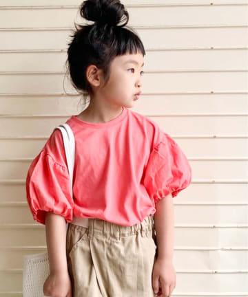 CIAOPANIC TYPY(チャオパニックティピー) 【KIDS】ボリュームフリルTee