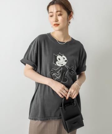 RIVE DROITE(リヴドロワ) 【《GOOD ROCK SPEED》洗える】FELIX CAT Tシャツ