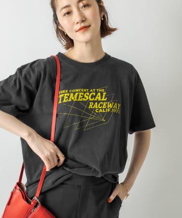 RIVE DROITE(リヴドロワ) 【《GOOD ROCK SPEED》洗える】TEMESCAL Tシャツ