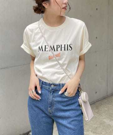 CAPRICIEUX LE'MAGE(カプリシュレマージュ) MEMPHISツアーTシャツ