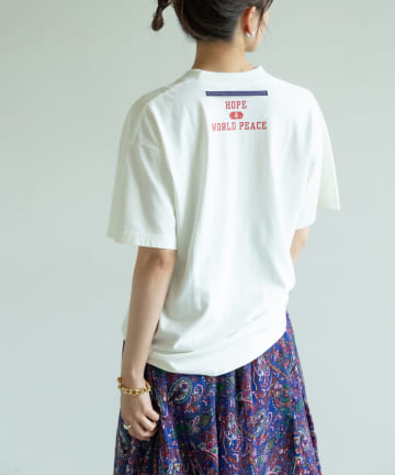 GALLARDAGALANTE(ガリャルダガランテ) 【MAISON No.8×GALLARDAGALANTE】 メッセージTシャツ