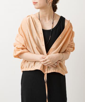 Omekashi(オメカシ) シアーショートシャツ