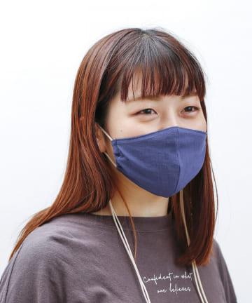 3COINS(スリーコインズ) 【FASHION MASK】ロングドローコードマスク