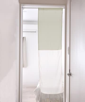 3COINS(スリーコインズ) 切り替えセパレートカーテン