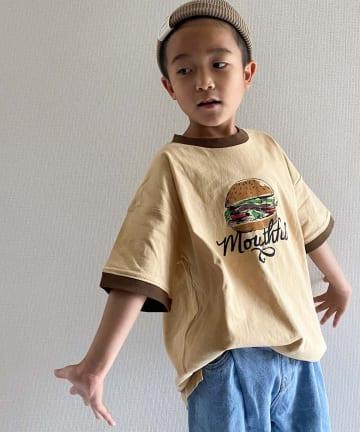 CIAOPANIC TYPY(チャオパニックティピー) 【KIDS】foodリンガーTee