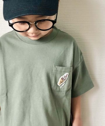 CIAOPANIC TYPY(チャオパニックティピー) 【KIDS】サガラ刺繍接触冷感Tee