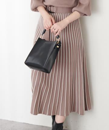 natural couture(ナチュラルクチュール) 【WEB限定カラー有り】2WAYスクエアショルダー